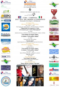 Locandina Evento ITALIA-CUBA